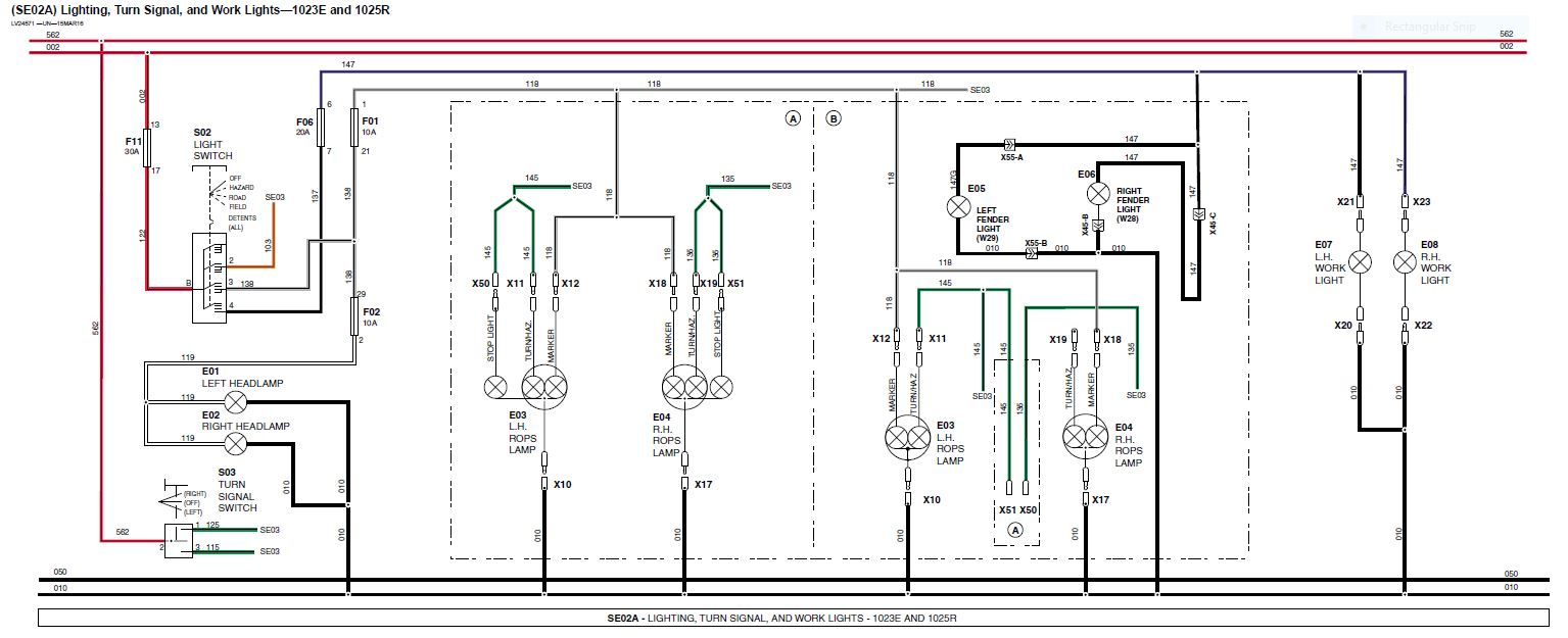 John Deere Light Wiring Harness For 345 Trusted Diagram B Schematic Lights Circuit And Hub U2022